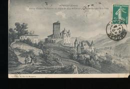 15 -- Aurillac -- Ancien Chateau St - Etienneou Naquit Et Vecut St Geraud - Autres Communes