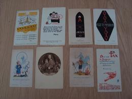 LOT DE 8 IMAGES RELIGIEUSES - Images Religieuses