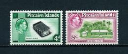 Islas Pitcairn (Británicas)  Nº Yvert  17/18  En Nuevo - Sellos