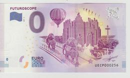 Billet Touristique 0 Euro Souvenir France 86 Futuroscope 2017-2 N°UECP000256 - EURO