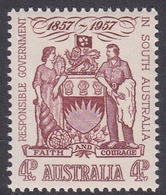 Australia ASC 330 1957 Centenary Of Responsible Government In SA, Mint Never Hinged - Mint Stamps