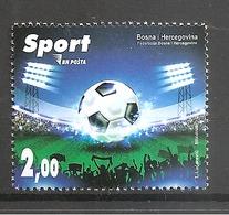 BOSNIA AND HERZEGOVINA 2018,POST SARAJEVO,SPORT,SOCCER,FOOTBALL,,MNH - Non Classés