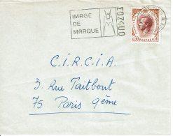 """1971 - Monaco - Oblitération SECAP """"MONACO IMAGE DE MARQUE"""" Sur Tp N°774 - Machine Stamps (ATM)"""