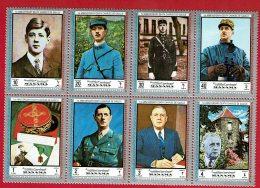 MANAMA - 1er Anniversaire De La Mort Du Général De Gaulle - Bloc Neuf Michel N° 1232 à 1239 - Manama