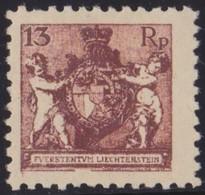 Liechtenstein     .   Yvert   .     50 B     .    *     .   Ungebraucht    .    /    .   Mint-hinged - Liechtenstein