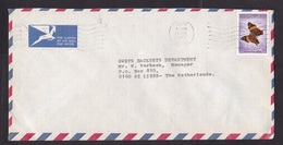 Malawi: Airmail Cover Limbe To Netherlands, 1985, 1 Stamp, Butterfly, Insect (minor Discolouring) - Malawi (1964-...)