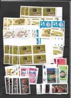 Tanzania MNH, Large Number Of Stamps ( 4 Scans) - Timbres