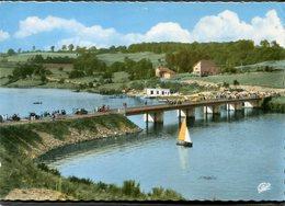 CPSM - RABODANGES - Le Pont Et Le Club M.C.B.N., Animé - Sonstige Gemeinden