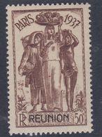 Rénion N° 152  XX Partie De Série : 50 C. Brun Et Brun-noir Sans Charnière, TB - Neufs