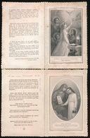 2 Heilige Prenten - 2 Holy Cards - 2 Image Pieusse - Images Religieuses
