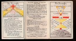 1heilige Prenten - 1 Holy Cards - 1 Image Pieusse  - 2 Scans - Devotion Images