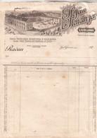 2495   SLOVENIJA   LJUBLJANA  RAČUN   ŠTEFAN MENCINGER - Factures & Documents Commerciaux