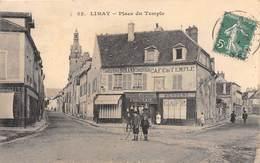 78-LIAMY- PLACE DU TEMPLE - Limay