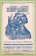 """ALMANACH HACHETTE 1908 : """" LES MAUX DE DENTS """" - Buvards, Protège-cahiers Illustrés"""