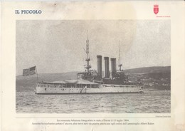 ITALIA  TRIESTE   30 X 21 CM - Boats