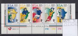 RSA (KA) Michel Cat.No. Mnh/** 985/989 Control Bloc - Zuid-Afrika (1961-...)