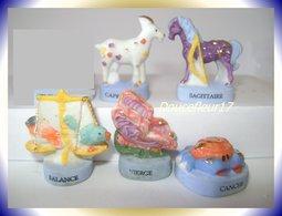 Animaux Du Zodiaque ...Lot De 6 Fèves... ..Ref AFF : 69--2007.. (Panier 003) - Animals