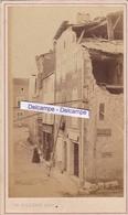 TOUL Années 1860 - Très Rare Photo Originale D'une Rue En Perspective Par Phot. Ch. GILBERT CDV ( Meurthe Et Moselle ) - Lieux