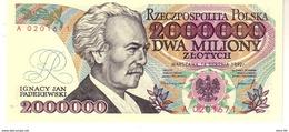 Poland P.158a 2000000 Zlotych 1992  Unc - Polen