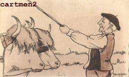 ILLUSTRATEYR F. HUYGEN TYPES DU PAYS-BASQUE COSTUME AGRICULTEUR 64 - Frankrijk