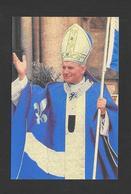 POLITIQUE DU QUÉBEC - LE PAPE JEAN XXIII VÊTU DU DRAPEAU DU QUÉBEC - Personnages