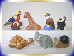 Anilmalia Tere Du Perou ...Lot De 7 Fèves... ..Ref AFF : 7--2000.. (Panier 0038) - Animals