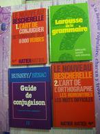 BESCHERELLE LAROUSSE HACHETTE 7 GUIDES Grammaire Conjuguaison Orthographe Aide Scolaire Dictionnaire - 12-18 Años