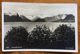 NORGE NORWAY ROMSDALSFJORD FROM ANDALSNES TO GENOVA  ITALY  1931 - Norvegia
