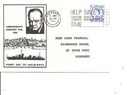 Churchill ( Document De Herm Island De 1966 à Voir) - Sir Winston Churchill