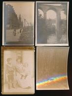 4 Oude Fotos Onbekende Plaatsen Of Persoon - Oud (voor 1900)