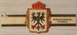 C05 Lot Bagues De Cigares  Grand Duché De Luxembourg  Echternach  1 Pièce - Cigar Bands