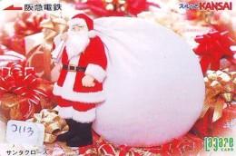 Télécarte Japon NOËL (2113) MERRY CHRISTMAS * Phonecard * Telefonkarte WEIHNACHTEN JAPAN * KERST NAVIDAD * NATALE - Weihnachten