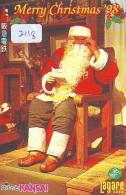 Télécarte Japon NOËL (2118) MERRY CHRISTMAS * Phonecard * Telefonkarte WEIHNACHTEN JAPAN * KERST NAVIDAD * NATALE - Noel
