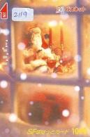 Télécarte Japon NOËL (2119) MERRY CHRISTMAS * Phonecard * Telefonkarte WEIHNACHTEN JAPAN * KERST NAVIDAD * NATALE - Noel