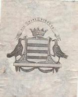 Ex-libris Armorié ( à Déterminer). - Ex Libris