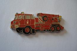 20180703-1884 Pin' Générique - CAMION GRUE DES SAPEURS POMPIERS - Firemen