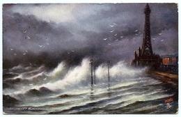 ROUGH SEAS - STORM OFF BLACKPOOL (TUCK'S OILETTE) - Blackpool