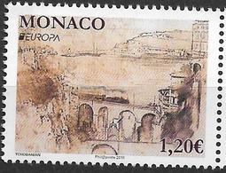 2018 Monaco  **MNH  Europa : Brücken . - 2018