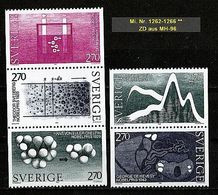 SCHWEDEN Mi. Nr. 1262-1263 ** ZD (A-6-4) - Suède