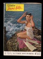 Fillette Jeune Fille N°676 La Nage Sous-marine - Martine Carol à Venise - Film Drôle De Phénomènes De 1959 - Fillette