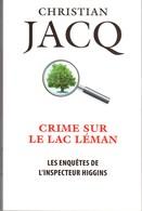 CRIME SUR LE LAC LEMAN DE CHRISTIAN JACQ EO 2018 VOIR SCANS. - Livres, BD, Revues