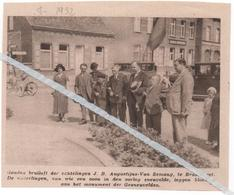 BRASSCHAET...1932... GOUDEN BRUILOFT J.B.AUGUSTIJNS - VAN SEMANG  HUN ZOON SNEUVELDE IN DE OORLOG - Vieux Papiers