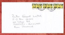 Luftpost, MeF Taenzerinnen, Port Vila Nach Auckland 1996 (53790) - Vanuatu (1980-...)