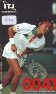 Télécarte Japon * Sport * TENNIS * (2064) KIMIKO DATE * PHONECARD JAPAN * TELEFONKARTE - Sport