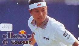 Télécarte Japon * Sport * TENNIS * (2069) KIMIKO DATE * PHONECARD JAPAN * TELEFONKARTE - Sport