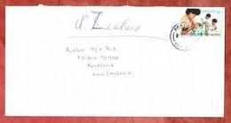 Luftpost, EF Unicef, Port Vila Nach Auckland 1996 (53795) - Vanuatu (1980-...)