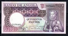 ANGOLA 1973  500 ESCUDOS.LUIZ DE CAMOES..CASI  SIN CIRCULAR. AUNC.  B1039 - Angola