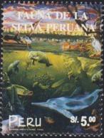 PERU 1999 Peruvian Rain Forest Bird Turtle Fauna MNH - Peru