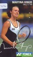 Télécarte Japon * Sport * TENNIS * (2076)   MARTINA HINGIS * PHONECARD JAPAN * TELEFONKARTE - Sport