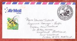 Luftpost, EF Flickingeria, Port Vila Nach Auckland 2003 (53800) - Vanuatu (1980-...)